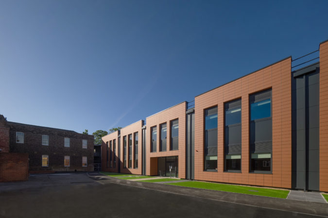 New Science Block at Fort Pitt Grammar School