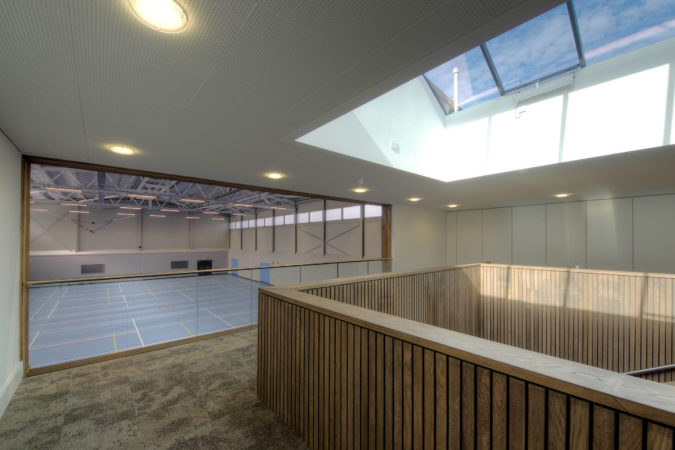 Sports Centre at Kent College Pembury